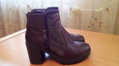 Демисезонные ботинки сапожки осень весна