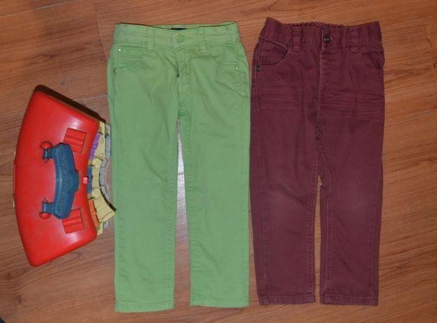 Яркие цветные джинсы