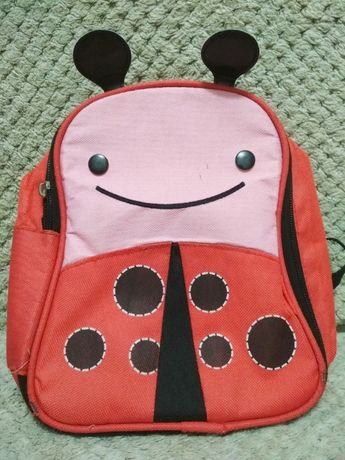Термо рюкзак сумка божья коровка. аналог skip hop, очень яркий