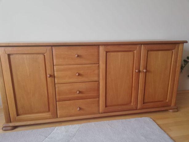 Drewniana, dębowa komoda