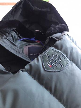 Парка - зимняя куртка (пуховик) Tommy Hilfiger,. Как Hugo Boss, Calvin