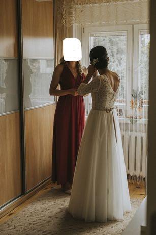 Suknia slubna w stylu boho JuliaRosa
