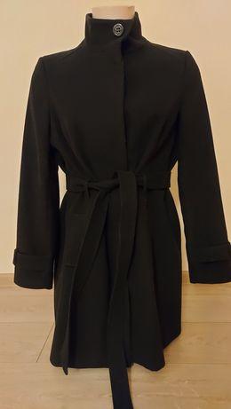 Płaszcz szlafrokowy ze stójką guziki chowane F&F 44