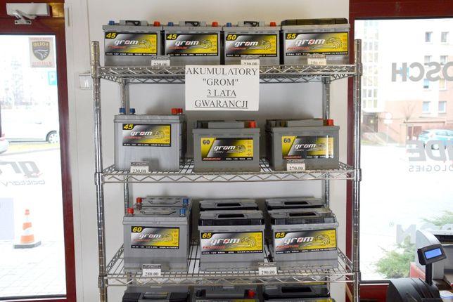 Akumulatory GROM 43Ah - 100Ah DOWÓZ GRATIS !