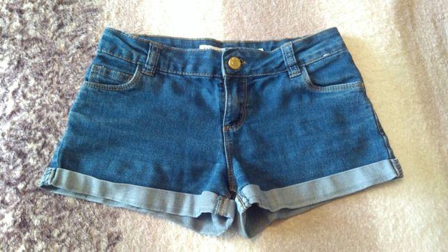 Шорты джинсовые,8-10 лет