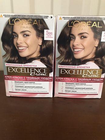 Продаю краску для волос LOREAL Preference 7.1,Excellence 5.00.