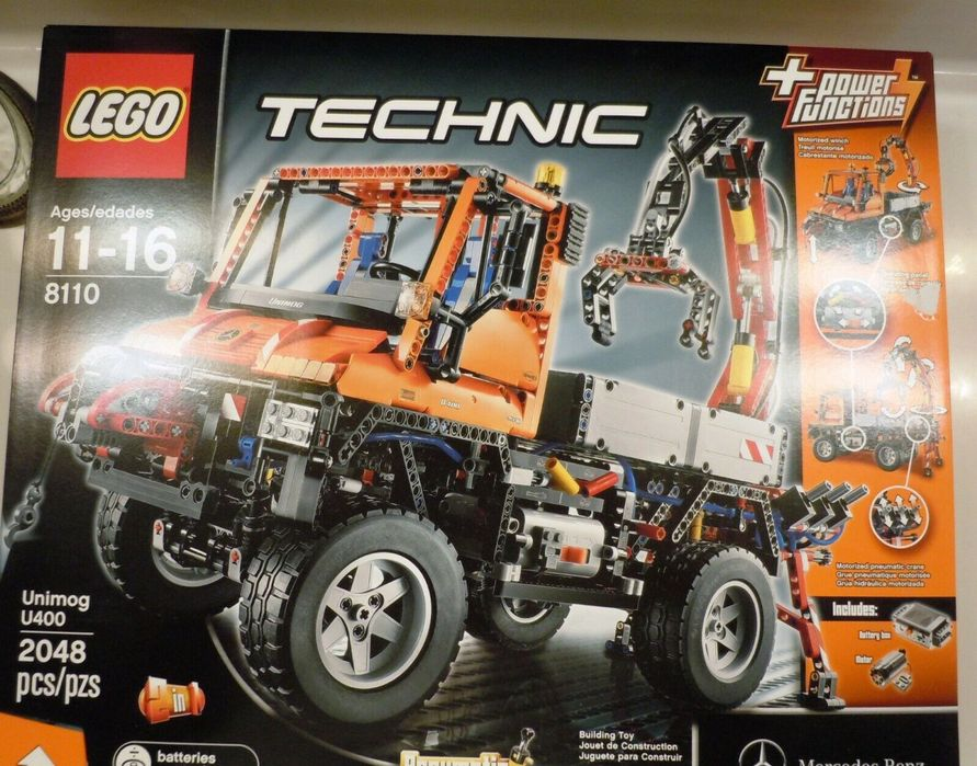 Lego Technic 8110 Unimog U400 (Descontinuado) Lumiar - imagem 1