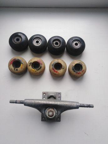 Детали скейт траки колеса