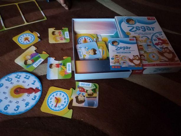 Zegar do nauki dla dzieci
