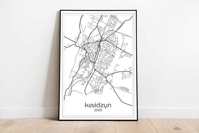 Plakat miasta Kwidzyn
