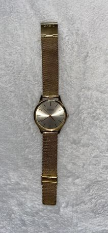 Zegarek casio zloty