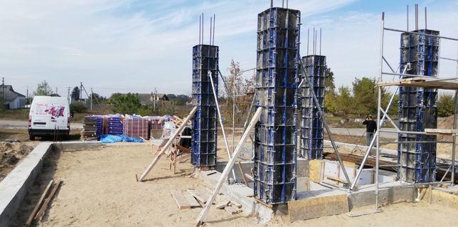Монолітні роботи, посилення існуючих конструкцій, реконструкції