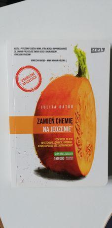 Książka zamień chemię na jedzenie