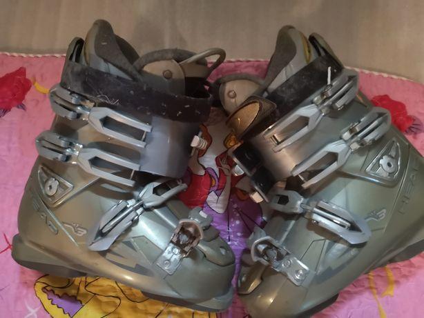 Buty narciarskie - zjazdowe.