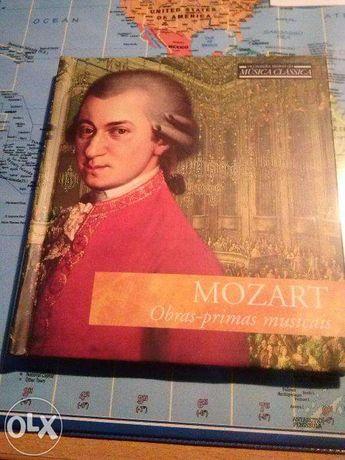 Livro+CD Mozart Obras Primas musicais