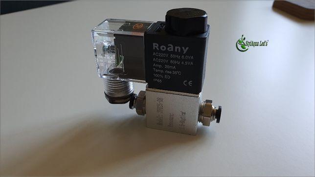 Akwarium-Elektrozawór CO2-220V+Szybkozłączki od StylAqua Led's