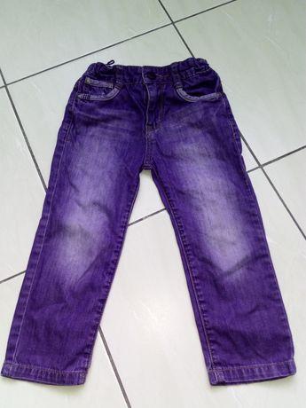 Spodnie jeansowe chłopięce r 98