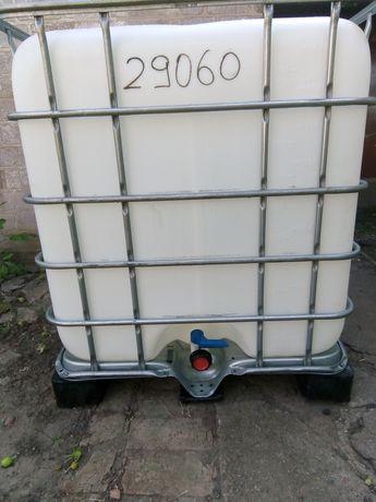 Еврокуб , ёмкость для воды1куб (пластиковый поддон).