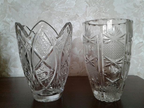 Продам хрустальные вазы ЧССР