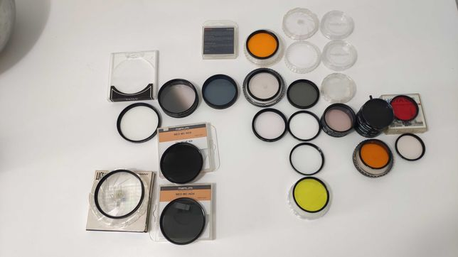 Filtros objetiva UV Sky ND CPL Hama Hoya Rodenstock Nikon Canon