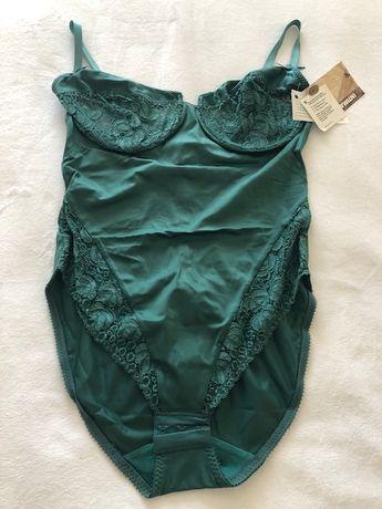 Body verde senhora tamanho 38 B com etiqueta