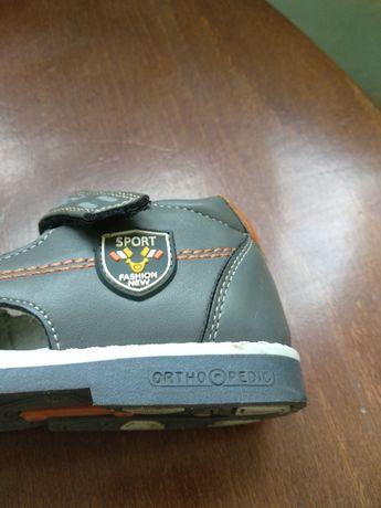 Ортопедические босоножки/сандали для мальчика