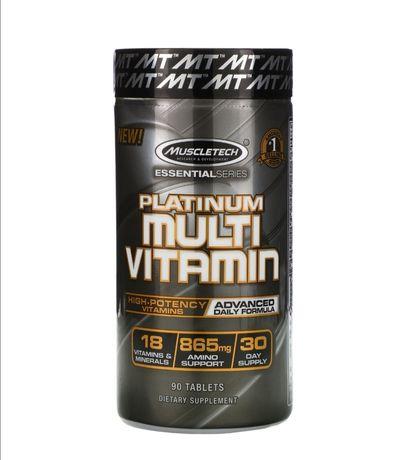 MusculTech мультивитамины + аминокислоты 90 таблеток / США