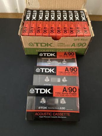 Продам касети нові TDK A90