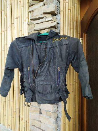 Куртка кожаная ДЕТСКАЯ