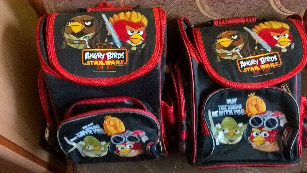 sprzedam dwa plecaki angry birds