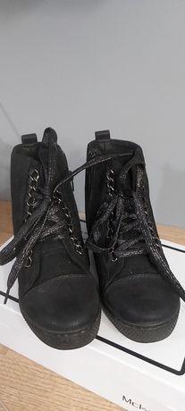 Nowe buty wiosenne - koturn. Lekkie 37