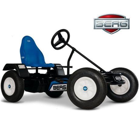 Gokart na pedały BERG Extra BFR niebieski, do 100 kg od 5 lat +. NOWY