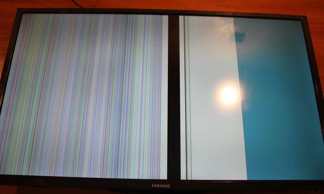 """Разбит экран. 32"""" Samsung L42. продаю по блочно"""
