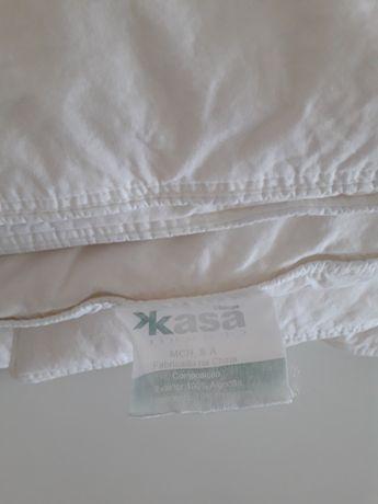 Edredon branco penas Kasa 170*140