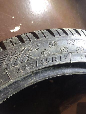 Opony zimowe Dunlop 225/45R17 2 szt