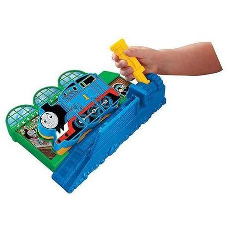 Zabawka tomek i przyjaciele pociąg stacja Fisher Price puzzle