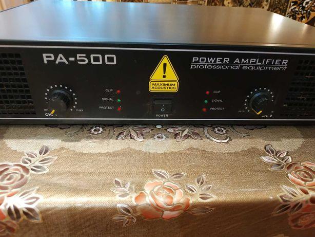 Підсилювач звуку PA-500