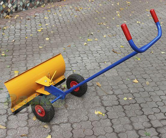 Лопата для снігу, снігоочисник ручний на колесах, відвал для снігу