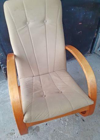 Fotel bujany sprężynujący