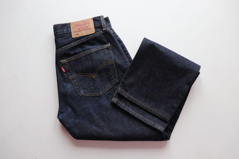 Męskie spodnie jeansy Levis 501 W31 L30 idealne jak nowe okazja Levi's Węgierska Górka - image 1