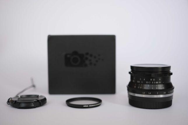 7artisans 35mm f/1.2 para Fujifilm X-mount
