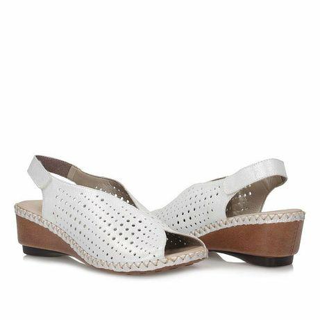 Damskie skórzane sandały Rieker