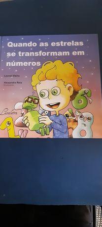 Livro Quando as estrelas se transformam em números