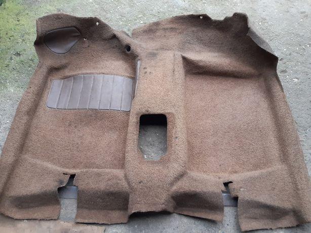 Wykładzina przód, brązowa, VW Golf mk1