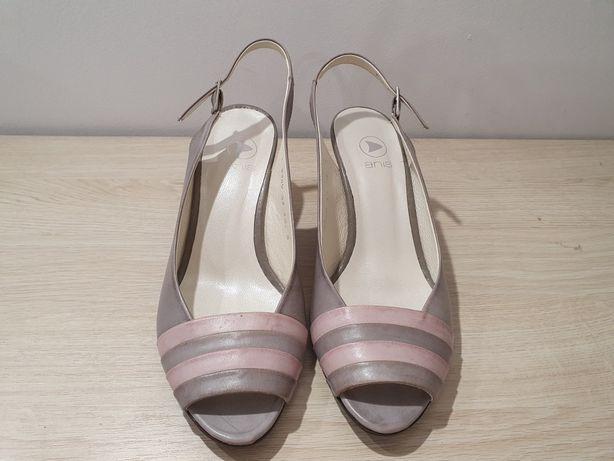 Sandałki damskie r. 37