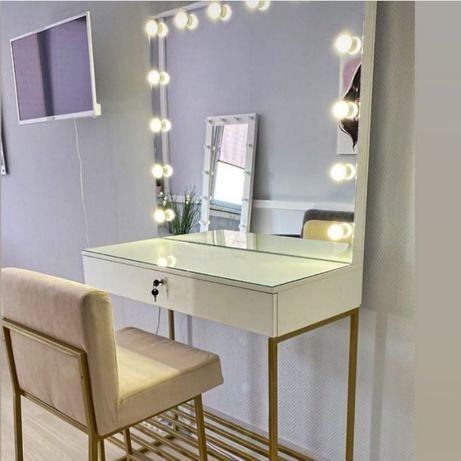 Гримерний стіл, гримерный стол, зеркало, гримерне зеркало, визаж,брови