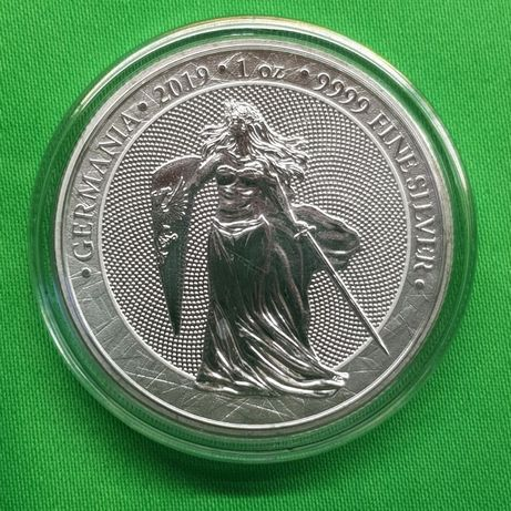 Раунд Первая Германия 2019 Блистер Germania Mint Серебро