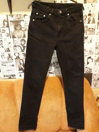 Чорні фірмові джинси XS - S