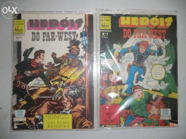 """Vendo revistas da colecçao ciclone """" heroes do far-west """""""