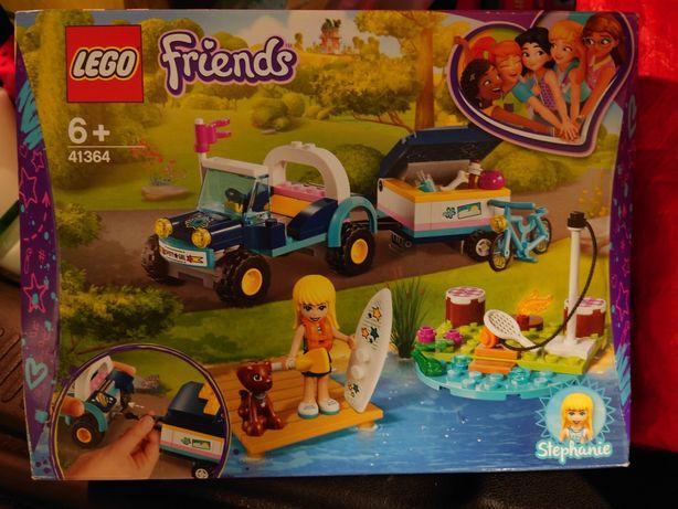Nowe LEGO friends 41364 łazik z przyczepą
